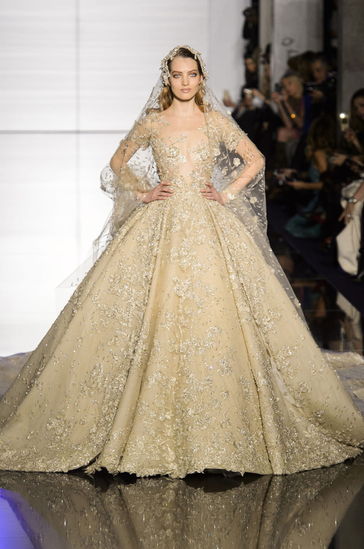 robe de mari e zuhair murad princesse dor e