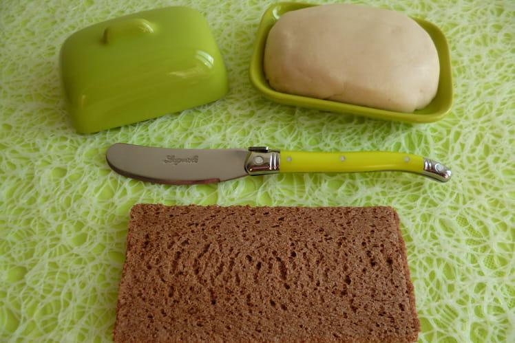 Beurre à tartiner sans gluten