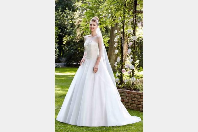 Robe de mariée Pétra de Point Mariage