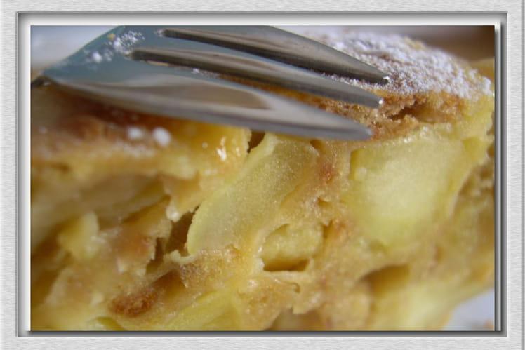 Fondant aux pommes et Petit-Brun