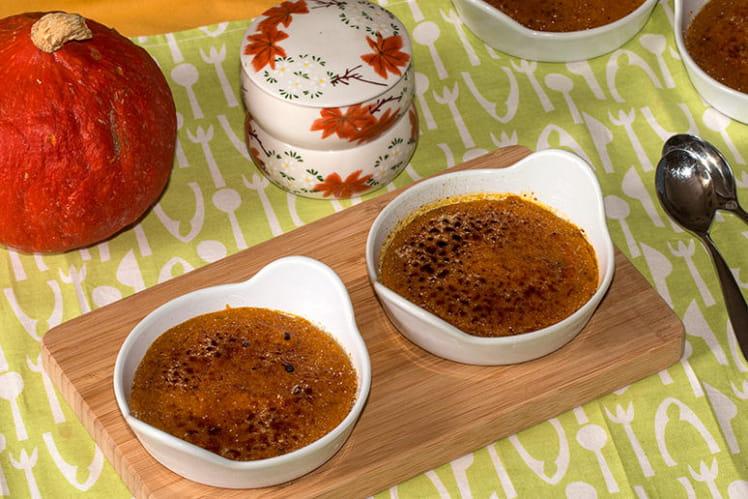 Crèmes brûlées au potimarron