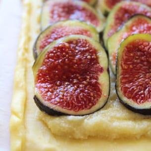 tarte aux figues au sirop de tabac