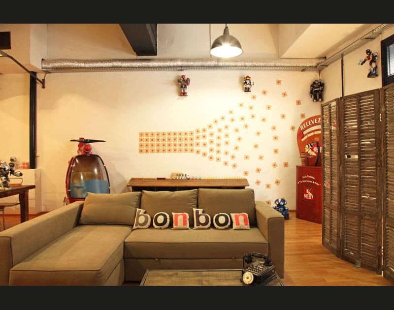 Un salon pour les enfants