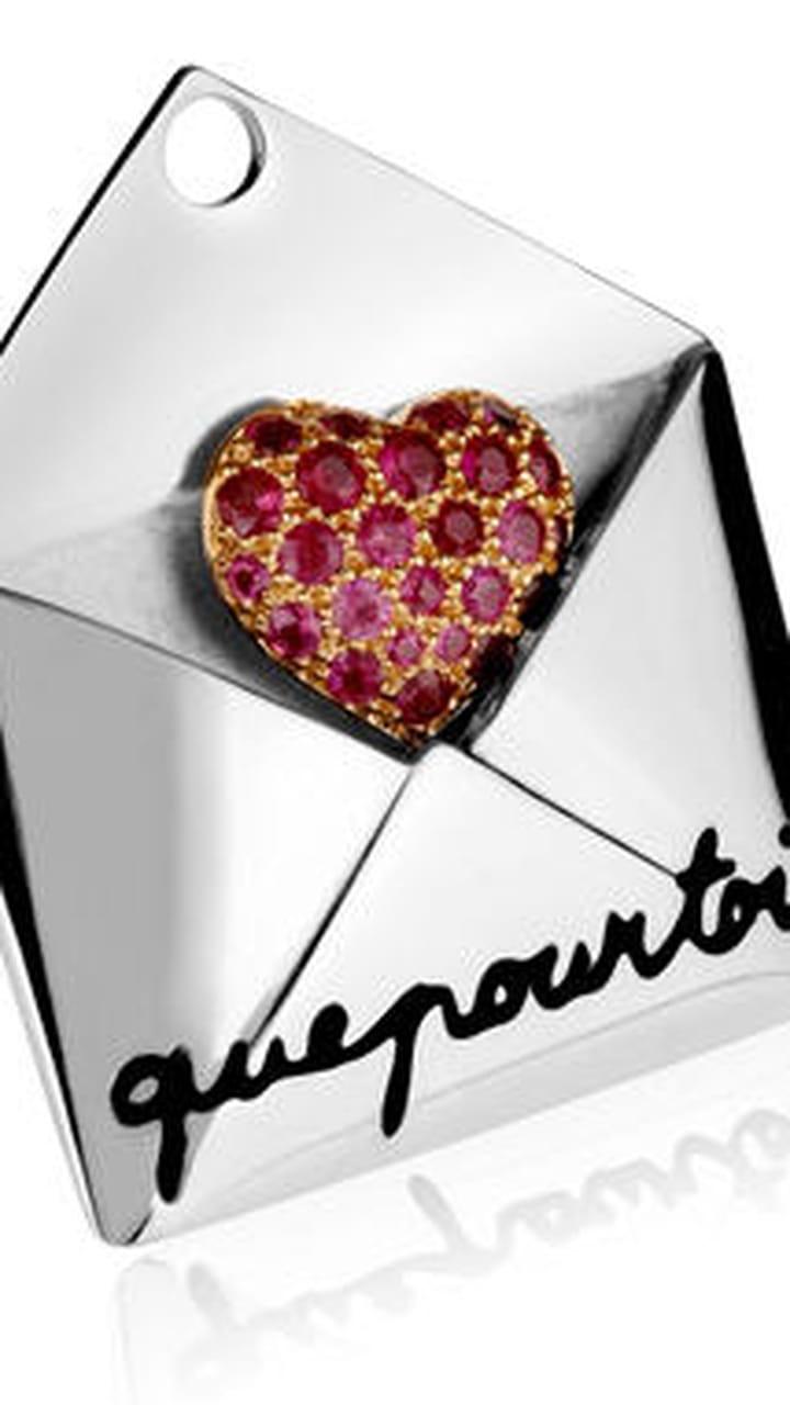Saint Valentin rouge /& rose massif Swirl Coeurs accrocher des décorations x 3