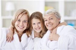 l'ostéoporose est en bonne partie héréditaire.