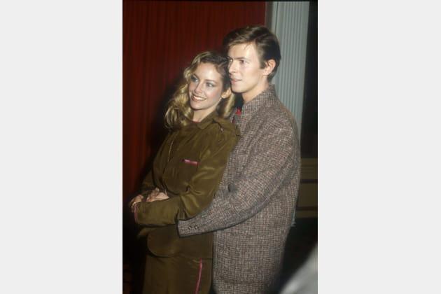 Avec Sydne Rome, promo de Just A Gigolo, 1979
