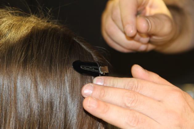 Un coiffage ultra précis