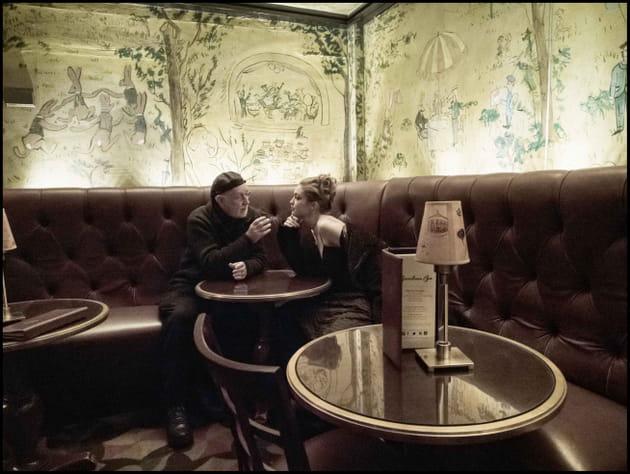 Gigi Hadid et Albert Watson