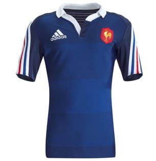 maillot équipe de france de rugby.