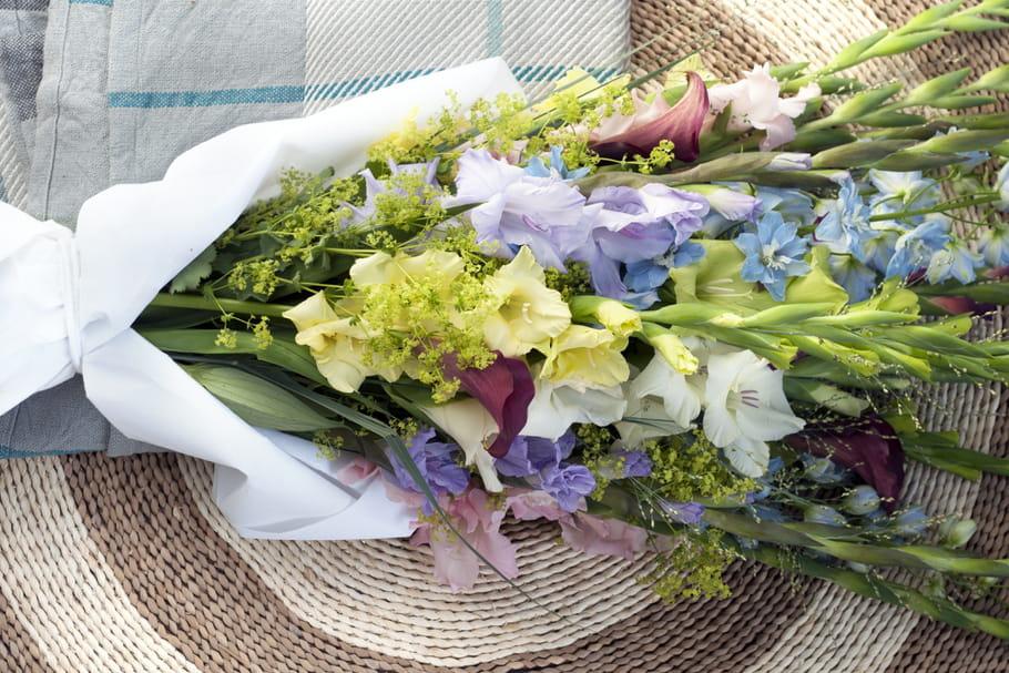 Comment faire un bouquet de glaïeuls pas ringard?