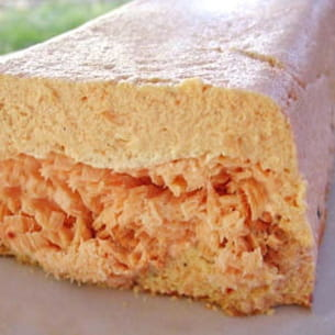 terrine rose saumon à la ricotta