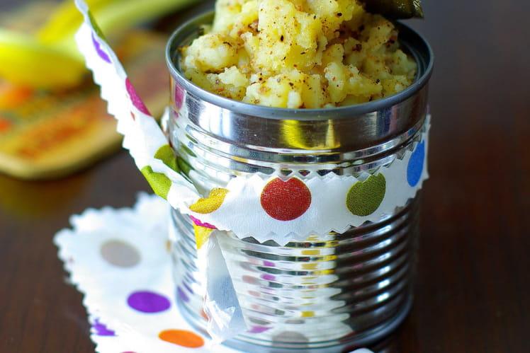 Ecrasée de pommes de terre à la fève tonka
