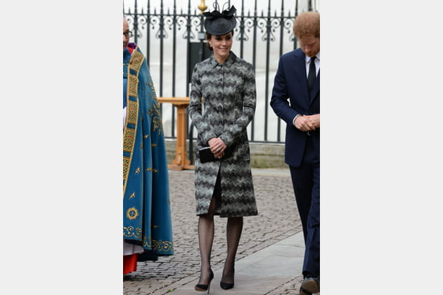 Kate Middleton le 5 avril 2017