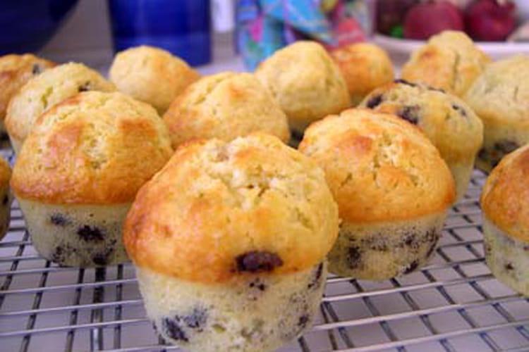 Mini muffins aux pépites de chocolat