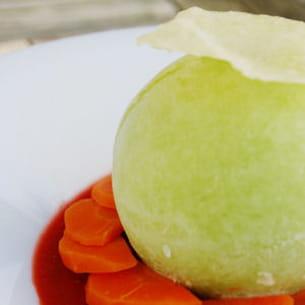 dessert light aux légumes