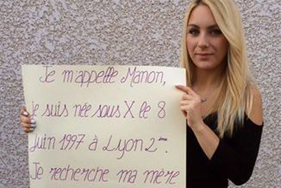 Née sous X, Manon lance un appel pour retrouver sa mère biologique