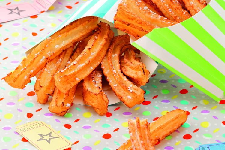 Mini churros à la fleur d'oranger