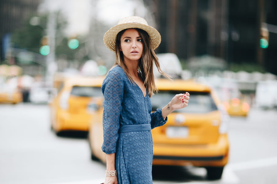 Le look blogueuse de la semaine : Alexandra Pereira à la fashion week de New York