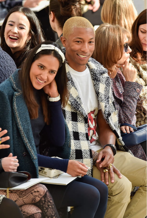 Pharrell Williams et Helen Lasichanh