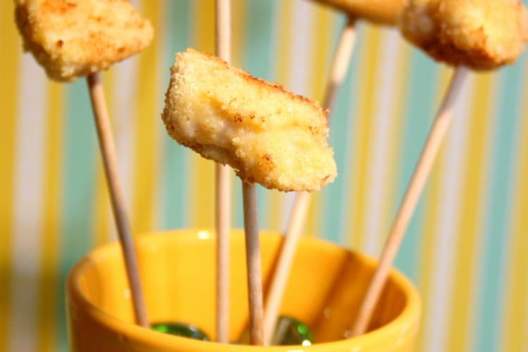 Sucettes de poulet panées aux noisettes