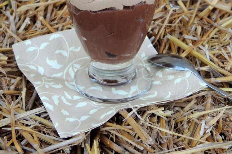 Crème dessert liégeoise chocolat noisette