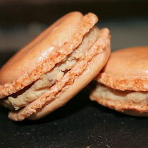 macaron foie gras et figue