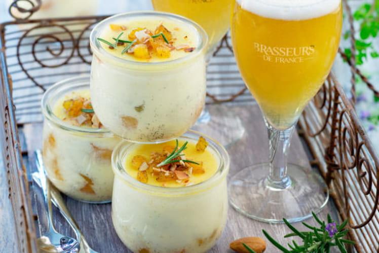 Crème amandes et abricots