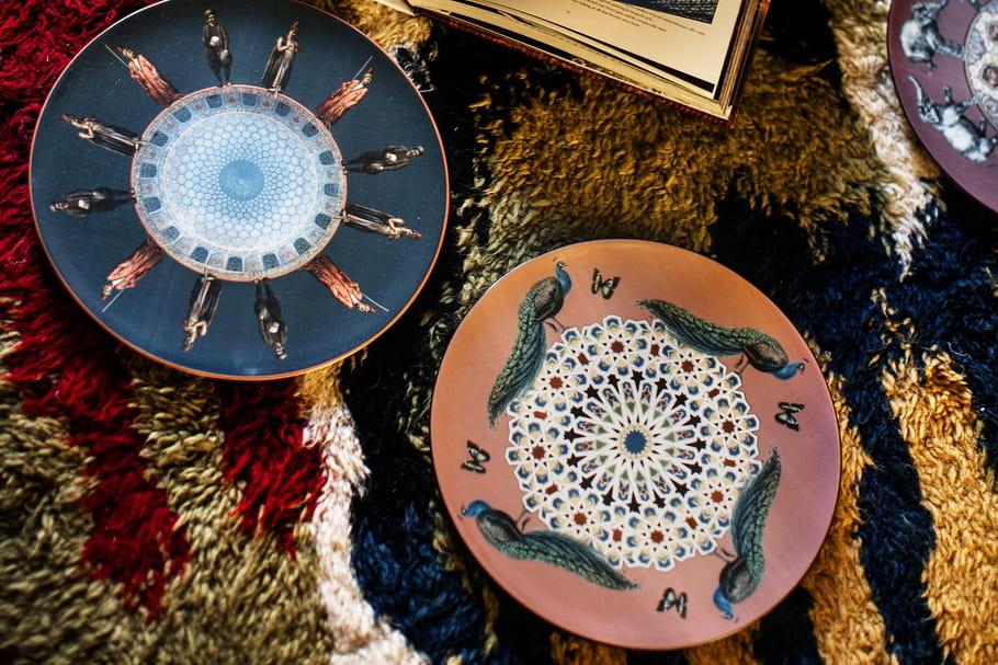 L'objet du désir: les assiettes hommage àConstantinople par Les Ottomans
