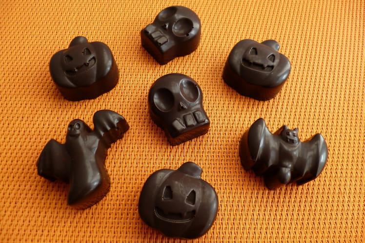 Chocolats végans 100% crus au chanvre et au sirop d'agave
