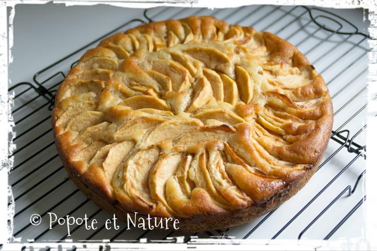 Tarte aux pommes flamande