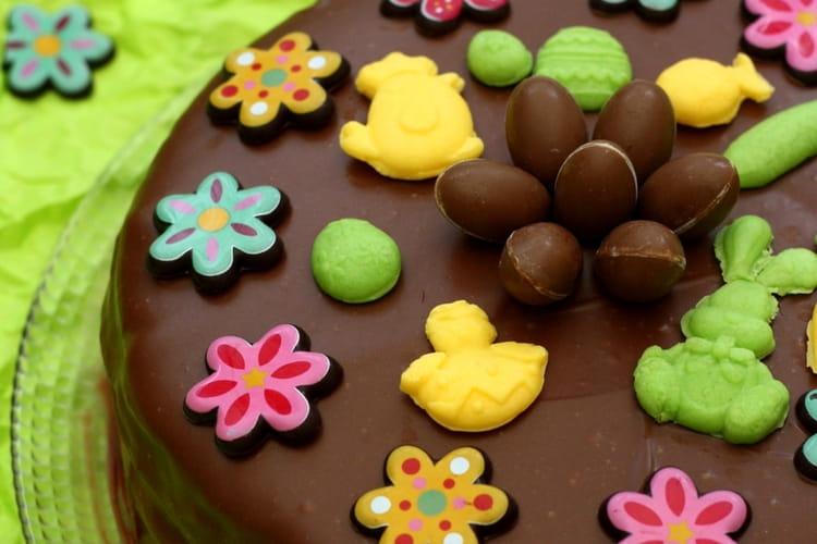 Gâteau au chocolat facile pour Pâques