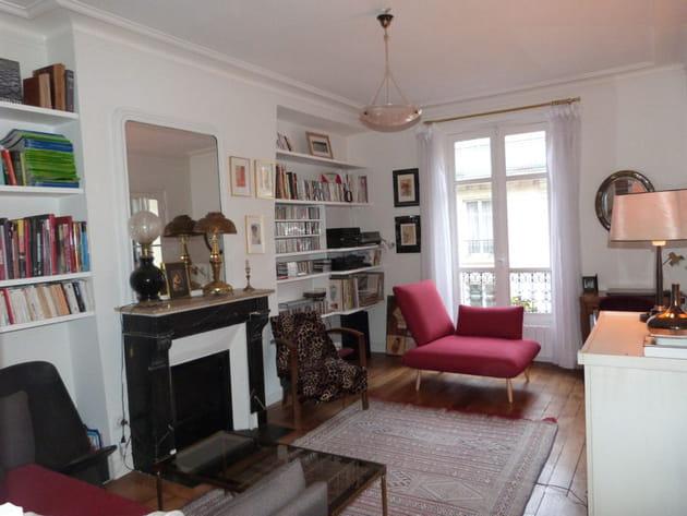 Chez Emilie, un appartement tourné vers les arts et l'Asie