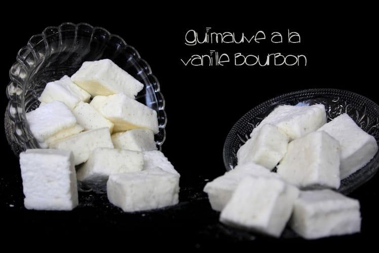 Guimauve à la vanille bourbon