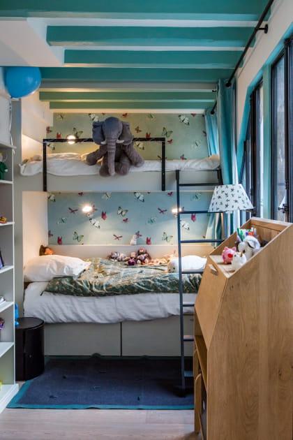Avec lits superposés