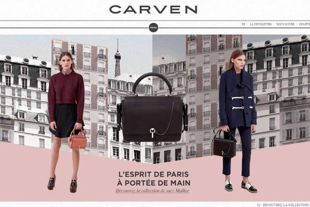 Le e-shop de Carven