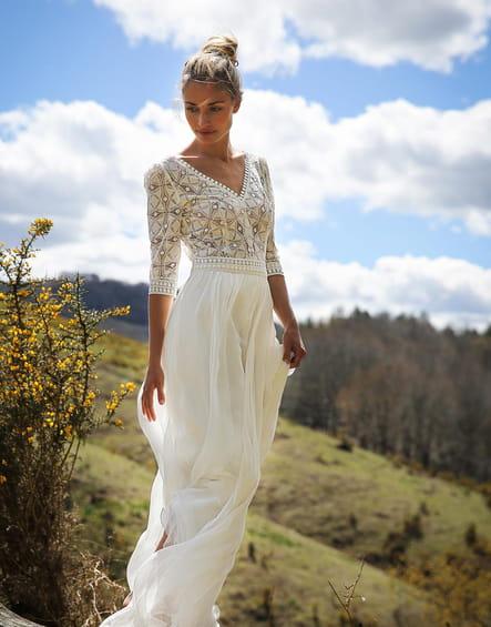 Robe de mariée Carmen, Marie Laporte