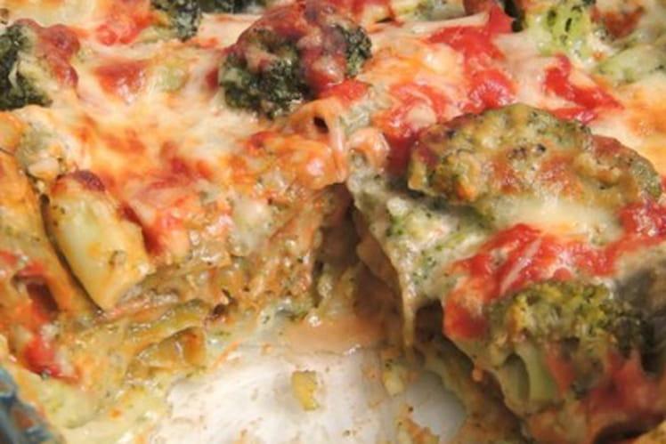 Lasagnes brocolis et feta