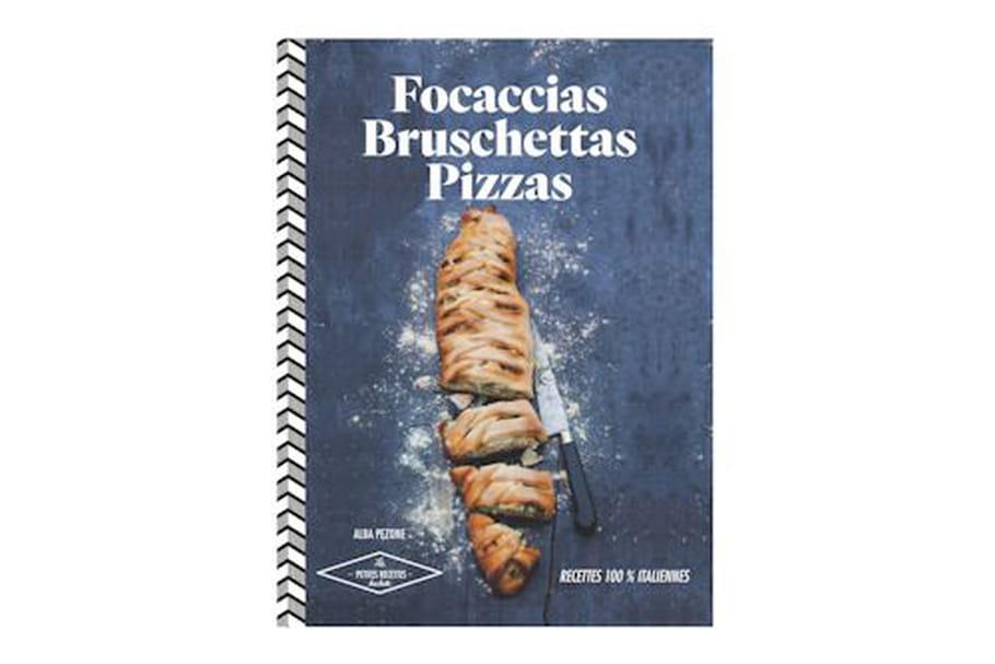 Concours : Gagnez 5 livres Focaccias, Bruschettas, Pizzas de Hachette Cuisine