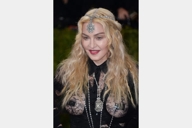 La coiffure Hindi de Madonna