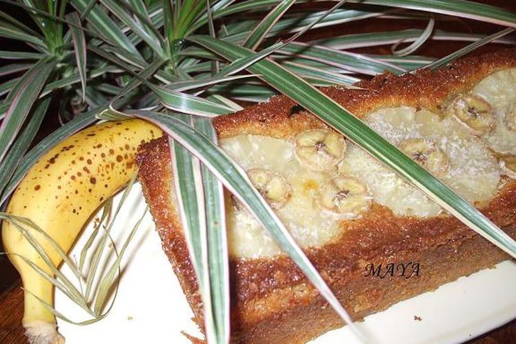 Cake des îles ananas coco