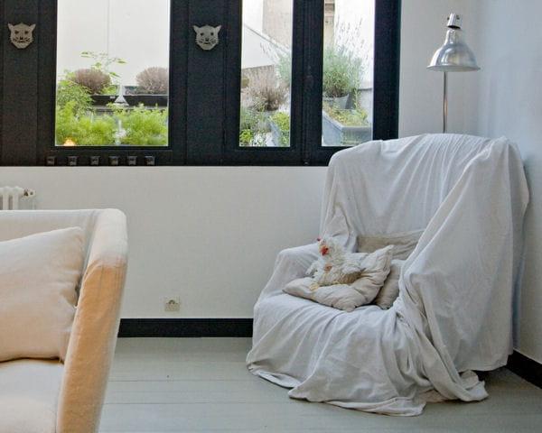 draper un fauteuil. Black Bedroom Furniture Sets. Home Design Ideas