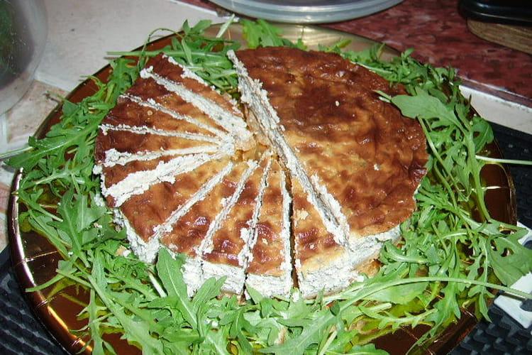 Cheesecake salé aux truffes