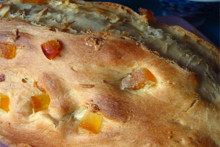 Plum cake (cake aux fruits secs et confits)