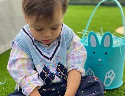 Les stars fêtent Pâques en famille, à la maison
