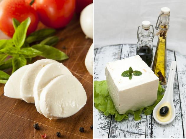 Mozzarella ou feta ?