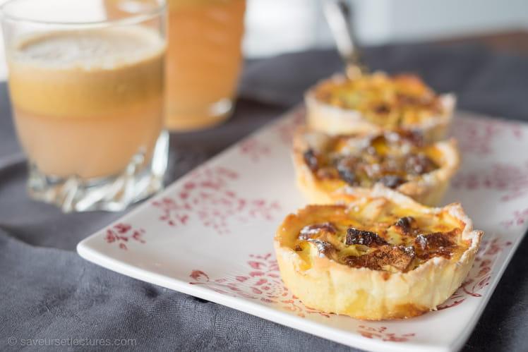 Tartelettes aux pommes et mirabelles