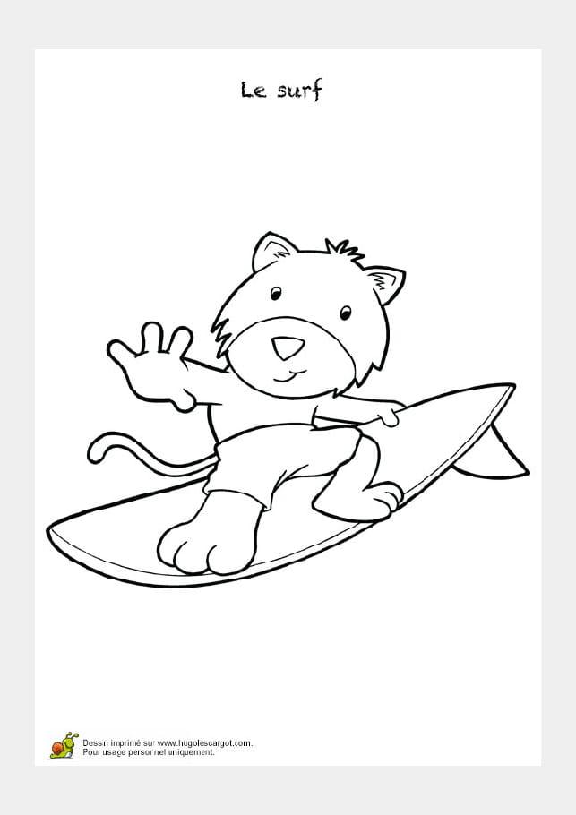 Surfer sur les flots