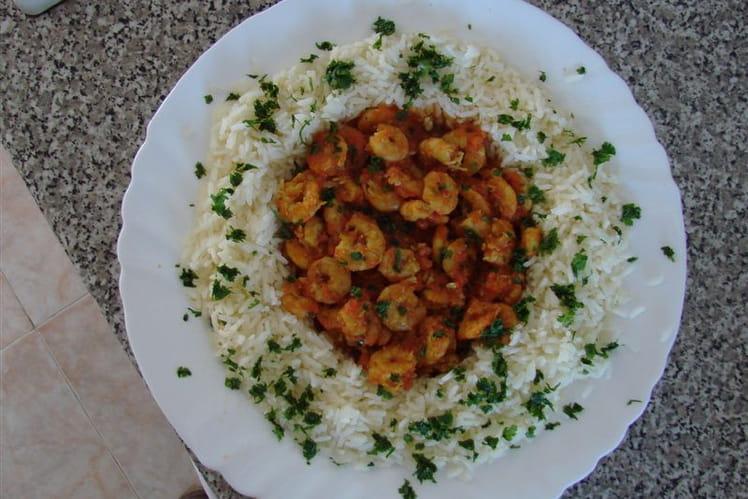 Crevettes mode provençal