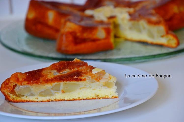 Gâteau léger au yaourt et aux poires