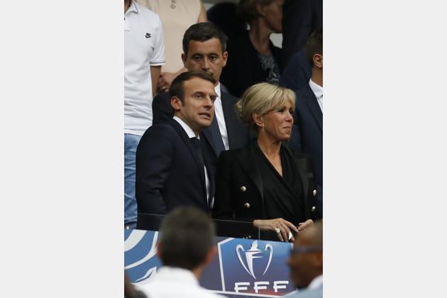 Brigitte Macron le 27mai 2017